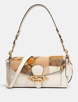 NWT COACH 91090 Jade Shoulder Bag With Patchwork