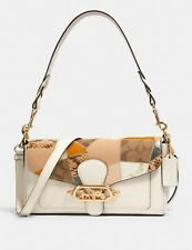 NWT COACH 91090 Jade Shoulder Bag With Patchwork