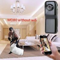 MD80 720P Mini Camera HD Camcorder Video Digital Audio Recorder Webcam w/Holder