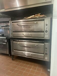 BLODGETT 1048 PIZZA OVEN DOUBLE STACK