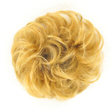 Hair Extension Scrunchie golden blond ref: 17 24b peruk