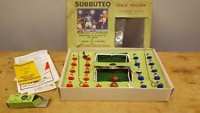 VINTAGE SUBBUTEO TABLE SOCCER - CONTINENTAL DISPLAY EDITION