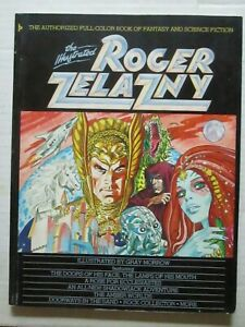 """""""The Illustrated Roger Zelazny"""" first edition graphic novel"""