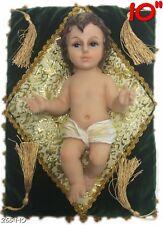 """Baby Jesus Figurine Christmas Holiday Jesus Nino Dios Figura 10"""" Inch Statue"""