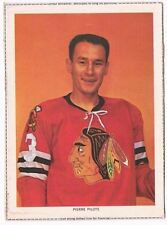 1963-65 Chex Photo Hockey Card Pierre Pilote