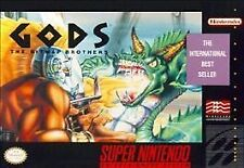 Gods (Super Nintendo Entertainment System, 1992) -Cartridge Only