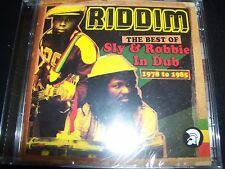 Sly & Robbie Riddim The Best Of In Dub 1978 To 1985 – 2 CD - New