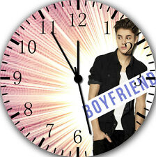 "Justin Bieber wall Clock 10"" will be nice Gift and Room wall Decor Z02"