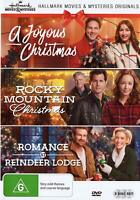 A JOYOUS CHRISTMAS / ROCKY MOUNTAIN CHRISTMAS / ROMANCE AT REINDEER LODGE (3DVD)