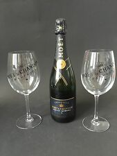 MOET CHANDON Nectar Imperial Champagne 0,75l 12% vol + 2 Imperial bicchieri di vetro