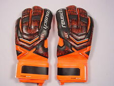 New Reusch Soccer Goalie Gloves RE:LOAD Prime S1 #3570263S Black&Orange SZ 9