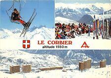 BG5527 le corbier vu du chalet ski teleski  france