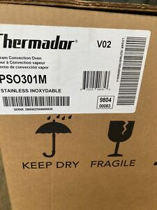 """THERMADOR PSO301M 30"""" SINGLE STEAM CONVECTION WALL OVEN"""