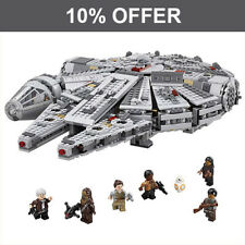 LEGO Star Wars Millennium Spacecraft Falcon Toys Building Blocks Compatible LEGO