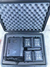 Sony BP-FL75 12.8 V Olivine Lithium-Ion V-Mount Battery With Charger and Case
