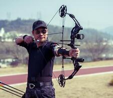 "Pro CompoundBow Kit 30-75lbs RH Archery Hunting 16""-32"" Draw Length 320FPS Arrow"