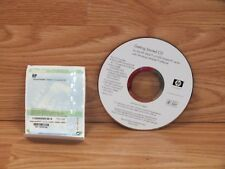 Genuine HP (399405) Getting Started CD For iPAQ H2200 With Key Code **READ**