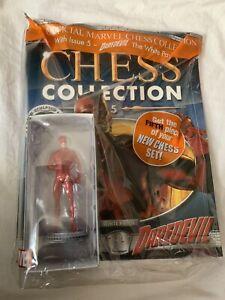 Eaglemoss Chess NEW * Daredevil * #5 White Pawn Marvel Comics Magazine Superhero