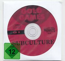 Sub CULTURE-WIN 95/98/me/xp - subculture-CD - 1997