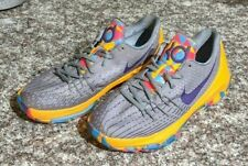 "Nike KD 8 GS ""PG Country"" Basketball Shoes Boys Size 7 Wolf Gray"