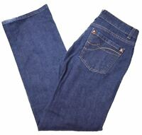 DKNY Womens Jeans US 12 W32 L31 Blue Cotton Bootcut  CN09