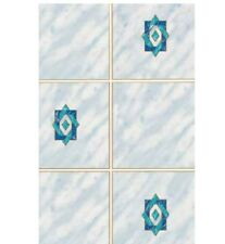 Klebefolie Möbelfolie Dekorfolie Designfolie Fliese MILANO blau 45cmx200cm Folie