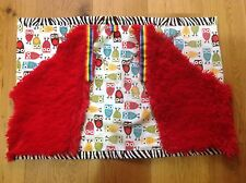 Sensory Lap Blanket for special needs & wheelchair users; Hi-spec Super Softie