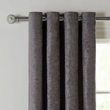 Argos Home Abberley Blackout Curtains Lined 168x137cm - Charcoal