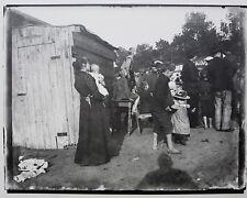 HEINRICH ZILLE - Foto vom Originalglasnegativ, Berlin, Zirkus, Griffelkunst