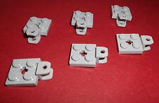 Lego (63082) 6 Anhängekupplungen 2x2, in hellgrau aus 8435, 9396, 8043, 8479