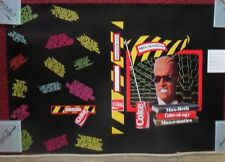 Classic Max Headroom Coke Coca-Cola Advertising Book Cover / Poster