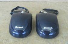 2 x Microsoft 1344 X821909-003 USB 2.0 Compact Optical Wired Mouse 500 V2.0