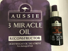 AUSSIE 3 MIRACLE OIL RECONSTRUCTOR 100ml Lightweight Oil Treatment