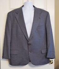 Men'S Vintage Joseph Abboud Grey Suit 44R 44 Waist 38