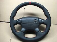 VW GOLF 3 PASSAT B4 Vento POLO Lenkrad Lederlenkrad  Neu bezogen Daumen GTi VR6