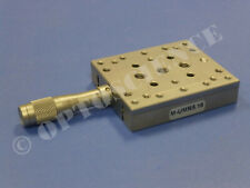 Newport M Umr516 Linear Translation Stage With Bm1116 Micrometer Metric