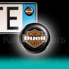 3 ADESIVI targa BUELL stickers auto moto camper BUELL scudo