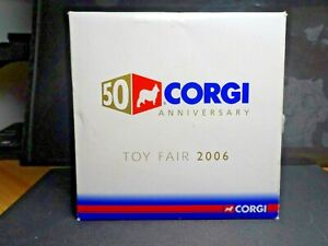 MEGA RARE CORGI 50TH ANNIVERSARY CONCORDE GOLD TOY FAIR 2006