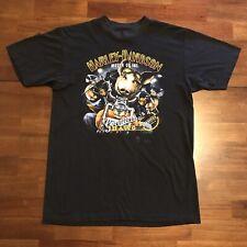 New listing Vintage Harley Davidson T Shirt 3D Emblem Genuine Hawg Usa Made Black Xl Hog