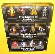 FIVE NIGHTS AT FREDDY'S & SISTER LOCATION 4-PACK FUNKO COLLECT VINYL FIGURE SET