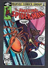 Amazing Spider-Man #213 Vs Wizard Marvel Comics Bronze Age 1980 VF/NM Homecoming