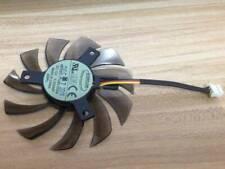 75mm 12V 0.2A 3pin T128010SM Fan VGA Video card GTX580 GTX670 560ti