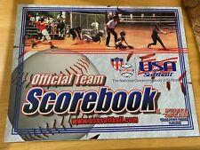 Official Asa Usa Softball Scorebook 2003/04 Unused