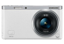 Samsung NX Mini 20.9MP Digital Camera - White (Kit w/ 9mm and ED 9-27mm Lenses)