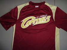 Maroon #5 St. Charles Capitals Premier League Baseball Jersey Adult S Excellent