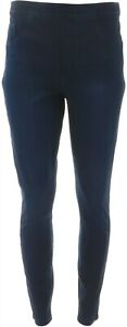 Spanx Jean-ish Ankle Length Leggings Twilight Rinse XL NEW A368975
