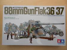 88 MM FLACK GUN 36/37/ ZUNDAPP 750 /9 FIGURINI - 1/35 - TAMIYA 35017