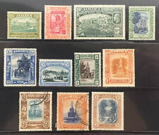 JAMAICA EARLY SINGLES A18-A29 - MOSTLY MINT