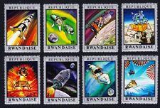 Rwanda Moon Missions Space Exploration 8v MNH SG#383-390 SC#373-380