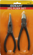 2pc Piece Pliers with Side Cutter set